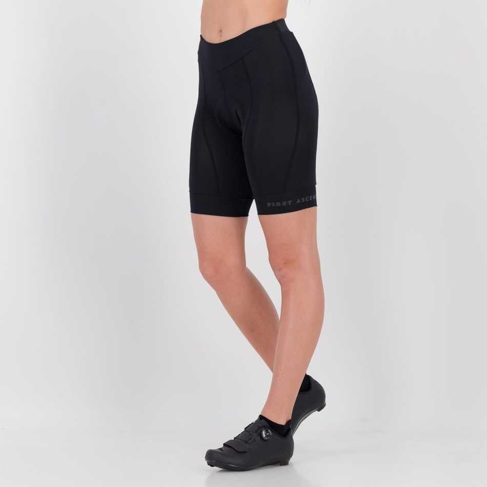 First Ascent Women's 8 Panel Domestique Pro Cycling Short, product, variation 3
