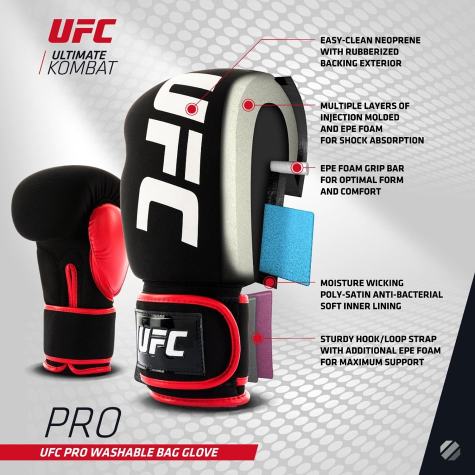 UFC PRO Washable Fitness Glove Regular, product, variation 2