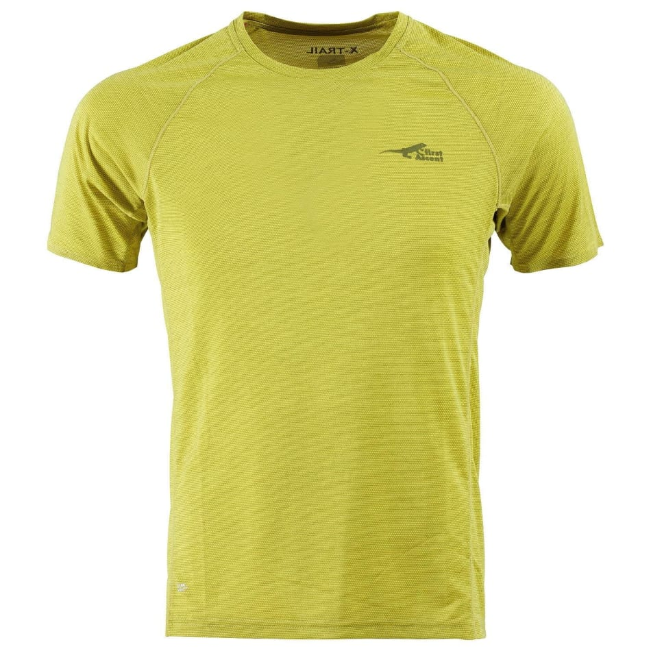 First Ascent Men's X-Trail Run Tee, product, variation 1