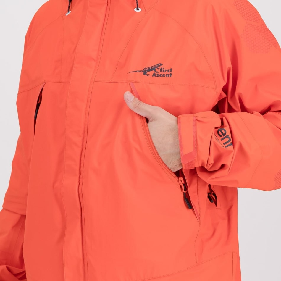 First Ascent Men's Vertex Waterproof Jacket, product, variation 4