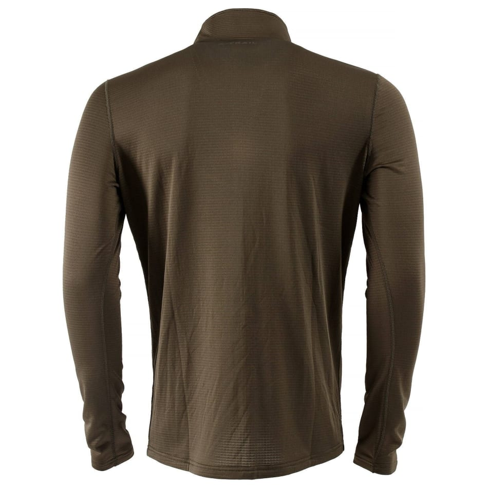 First Ascent Men's X-trail Grid 1/4 Zip Fleece Top, product, variation 2