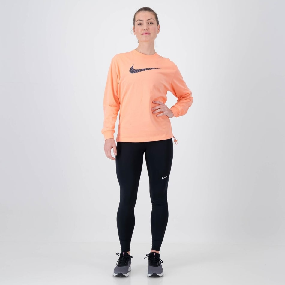 Nike Women's Icon Clash Long Sleeve Crop Sweat Top, product, variation 4