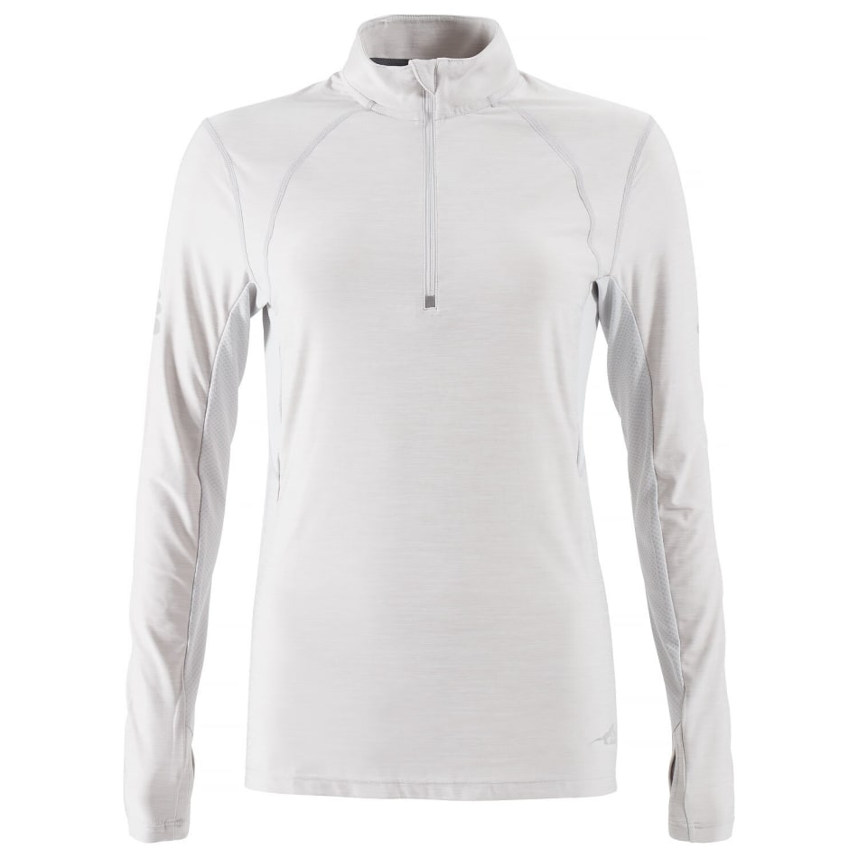 First Ascent Women's Kinetic 1/4 Zip Run Long Sleeve, product, variation 1