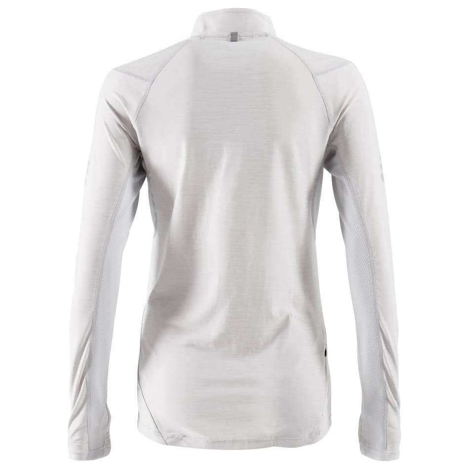 First Ascent Women's Kinetic 1/4 Zip Run Long Sleeve, product, variation 2