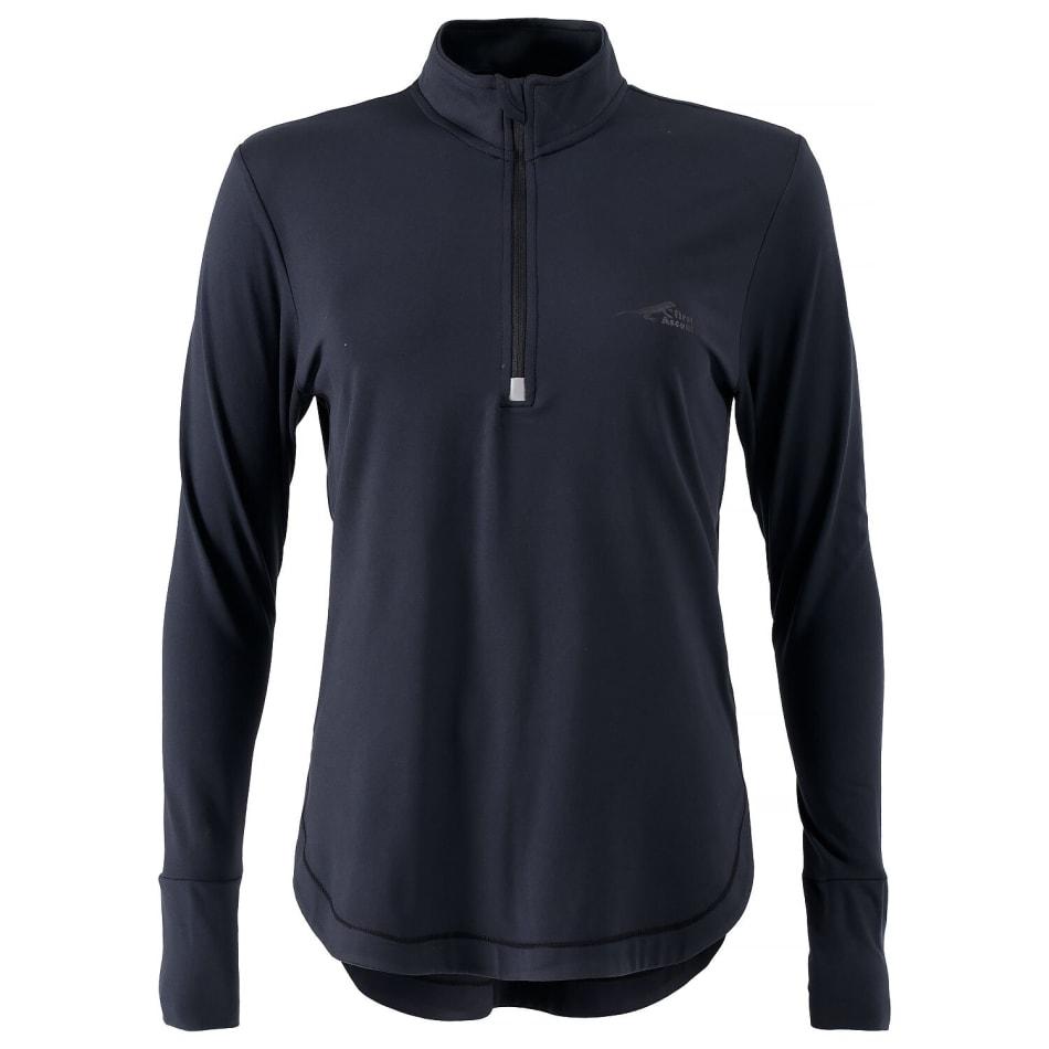 First Ascent Women's Corefit 1/4 Zip Run Long Sleeve, product, variation 1