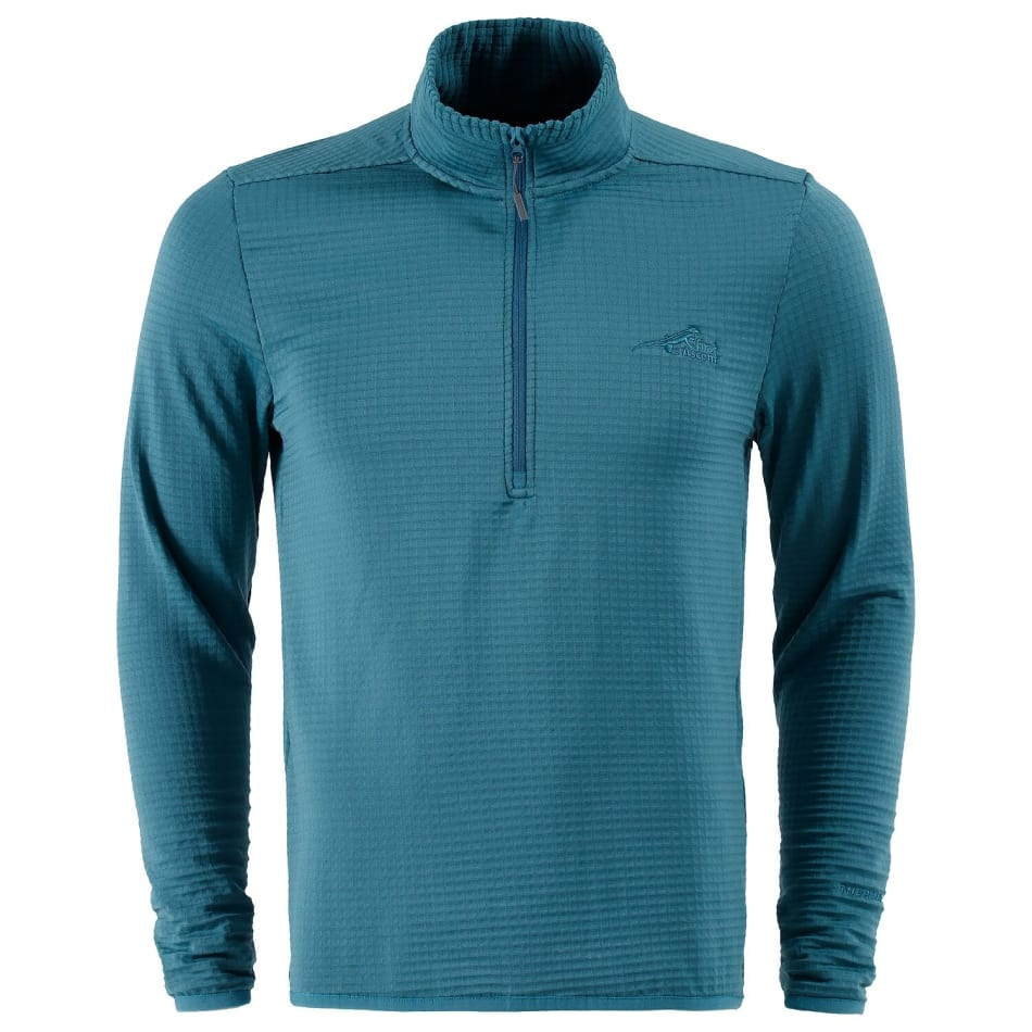 First Ascent Men's Therma Grid 1/4 zip Top, product, variation 1