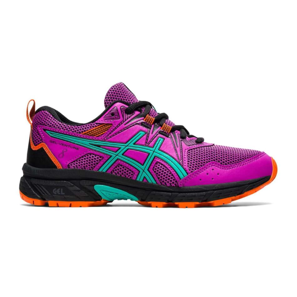 Asics Jnr Gel-Venture 8 GS Girls Off-Road Shoe, product, variation 1
