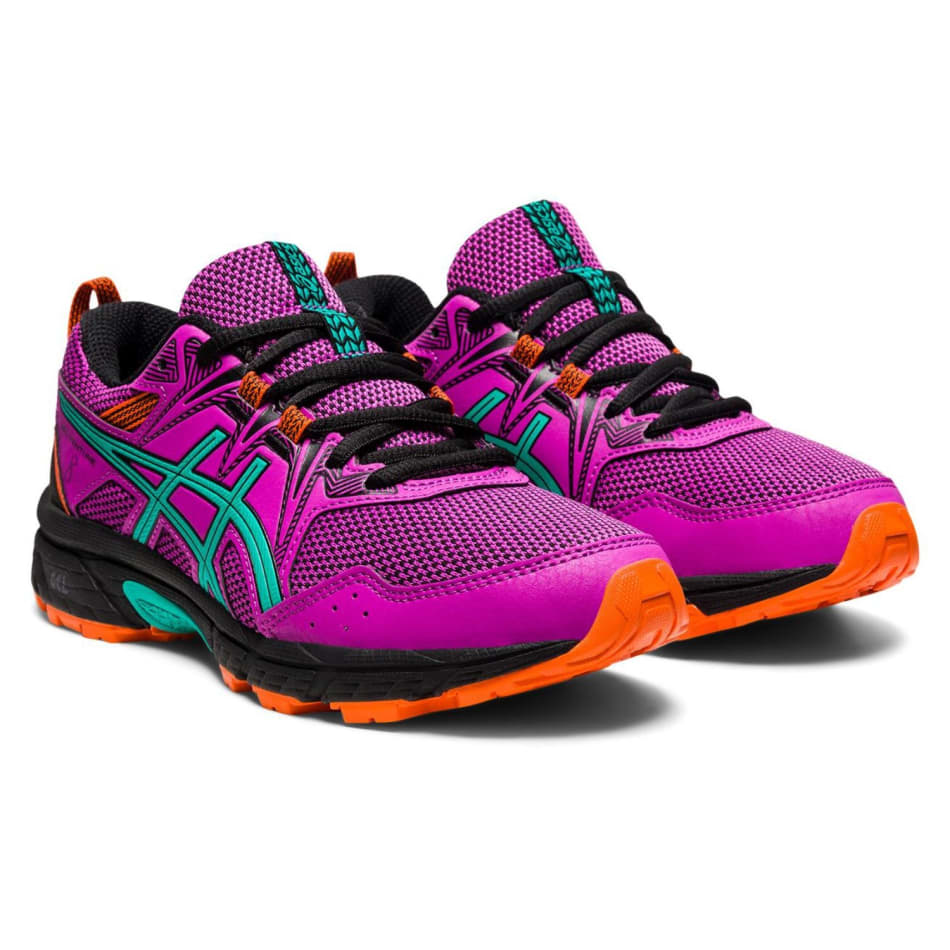 Asics Jnr Gel-Venture 8 GS Girls Off-Road Shoe, product, variation 7