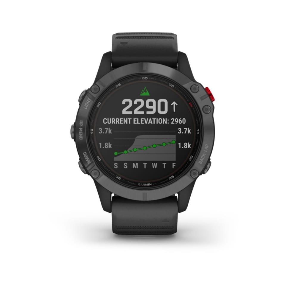 Garmin Fenix 6 Pro Solar Multisport GPS Watch, product, variation 1