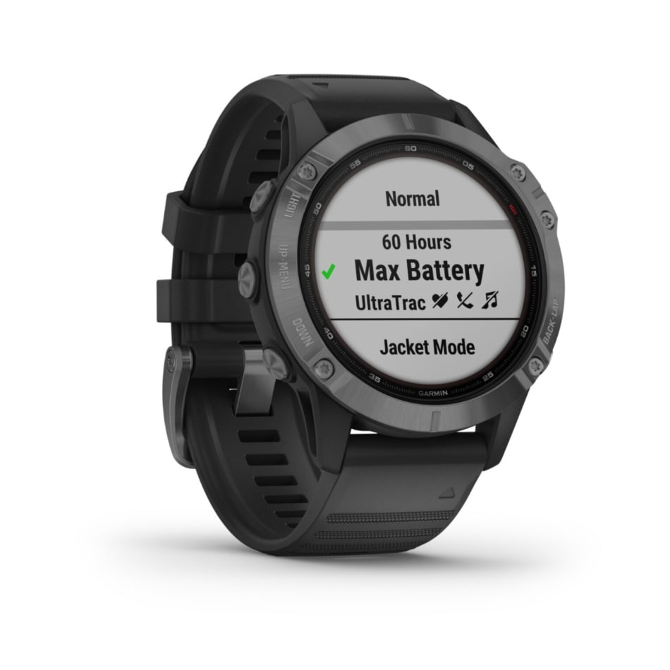 Garmin Fenix 6 Pro Solar Multisport GPS Watch, product, variation 2