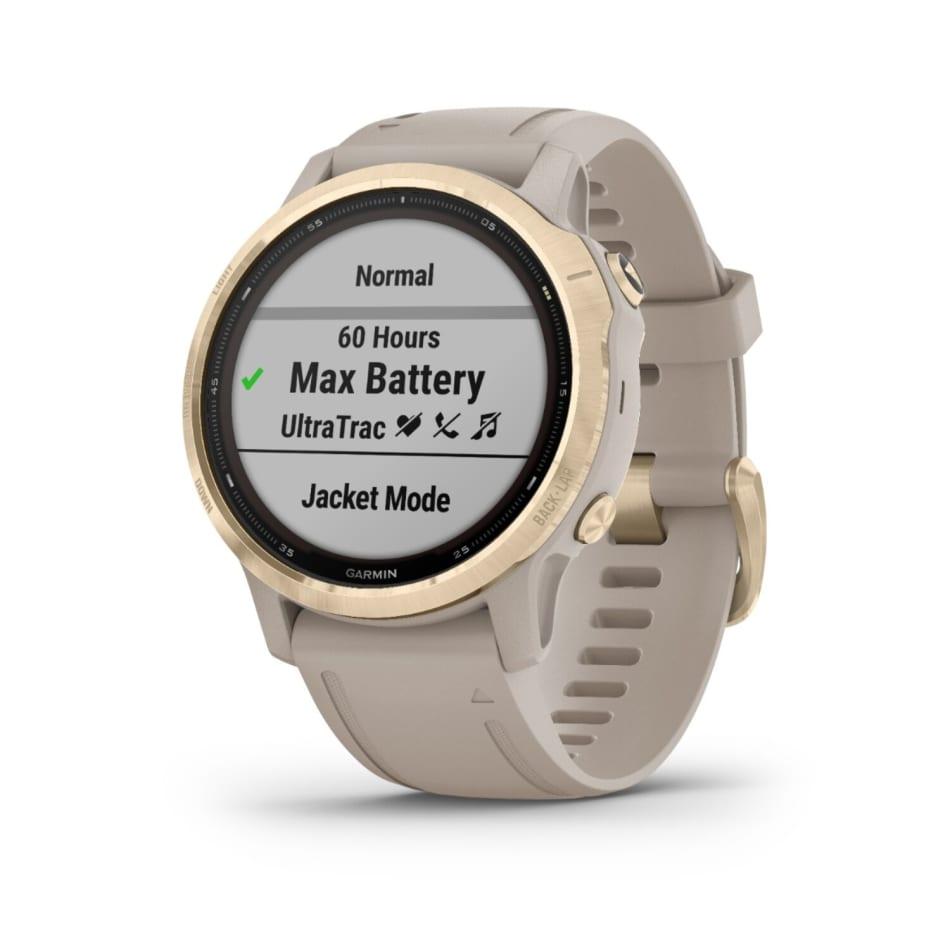 Garmin Fenix 6S Pro Solar Multisport GPS Watch, product, variation 1