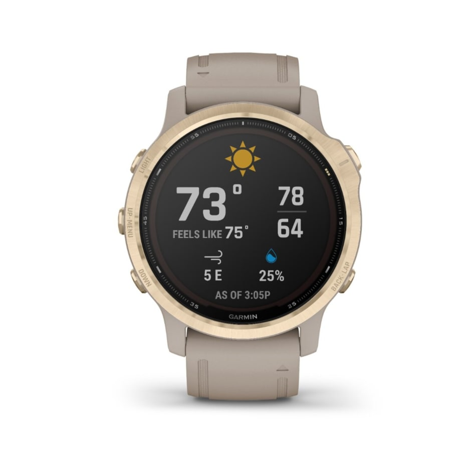 Garmin Fenix 6S Pro Solar Multisport GPS Watch, product, variation 3