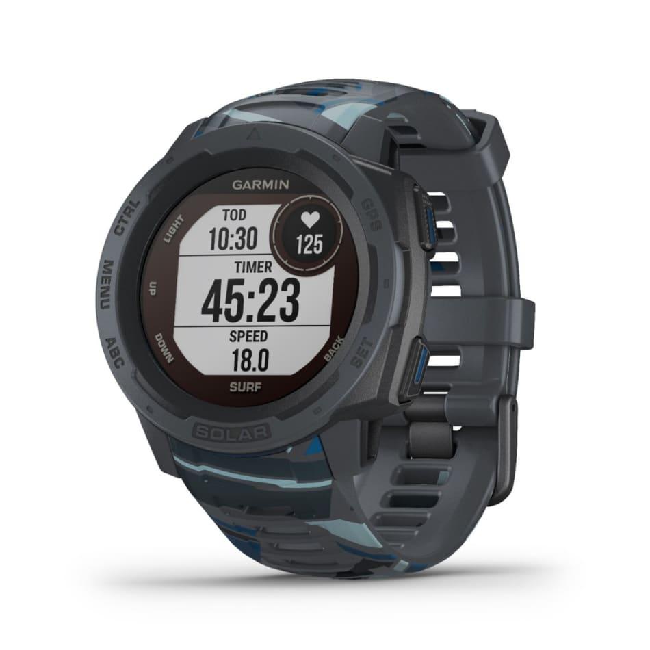 Garmin Instinct Solar Surf Outdoor GPS Watch, product, variation 2