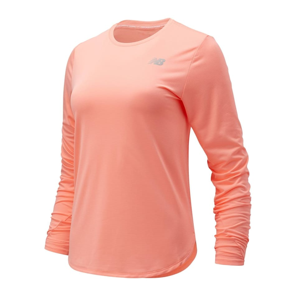 New Balance Women's Accelerate Run Long Sleeve, product, variation 1