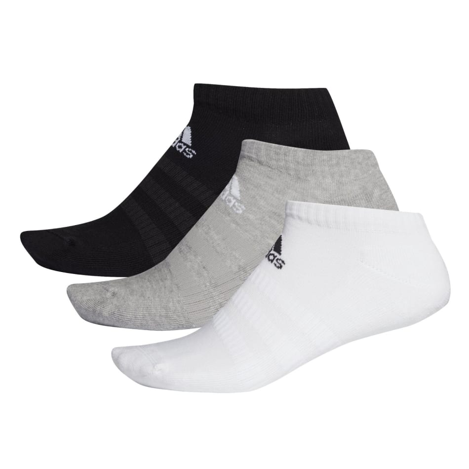 Adidas Cushion Low 3Pack Sock Size 4-7, product, variation 2