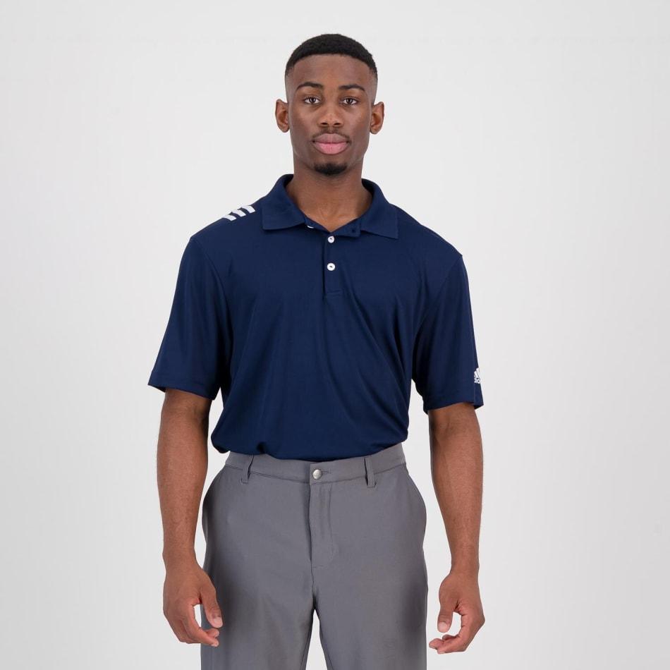 adidas Men's Golf 3 Stripe Polo, product, variation 2