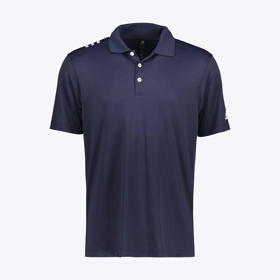 adidas Men's Golf 3 Stripe Polo, product, variation 1