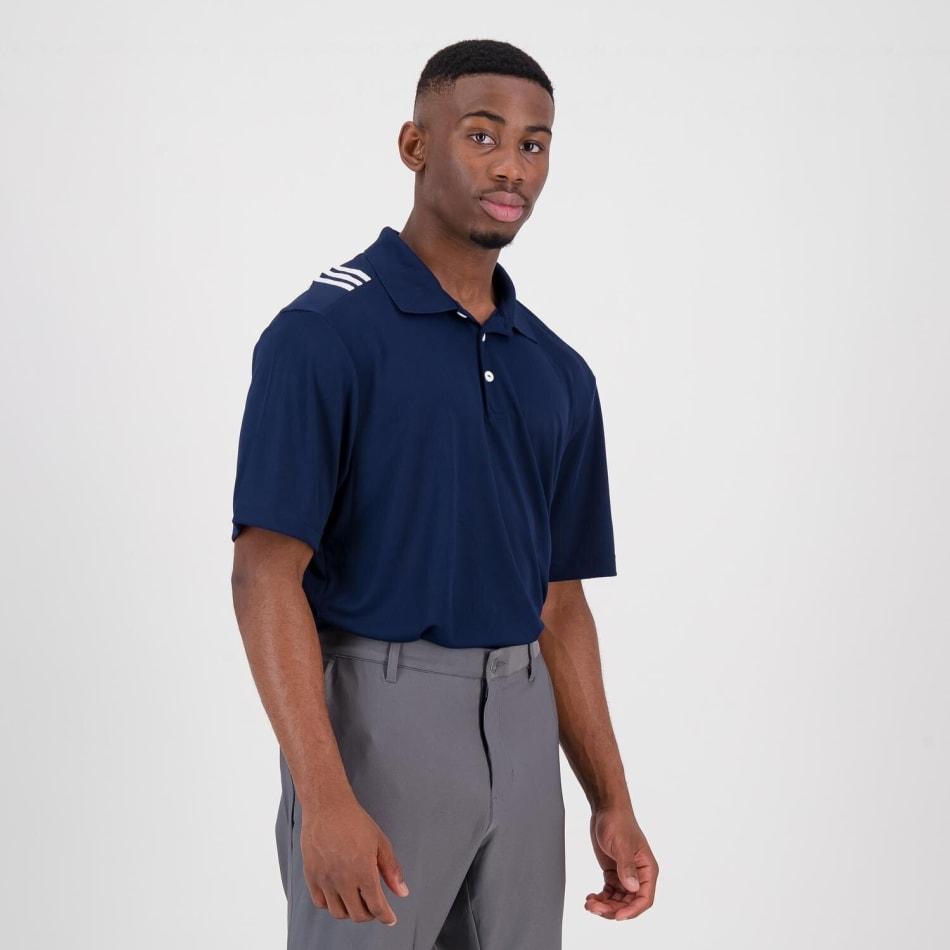 adidas Men's Golf 3 Stripe Polo, product, variation 3