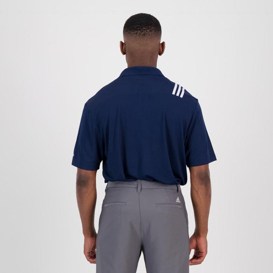 adidas Men's Golf 3 Stripe Polo, product, variation 5