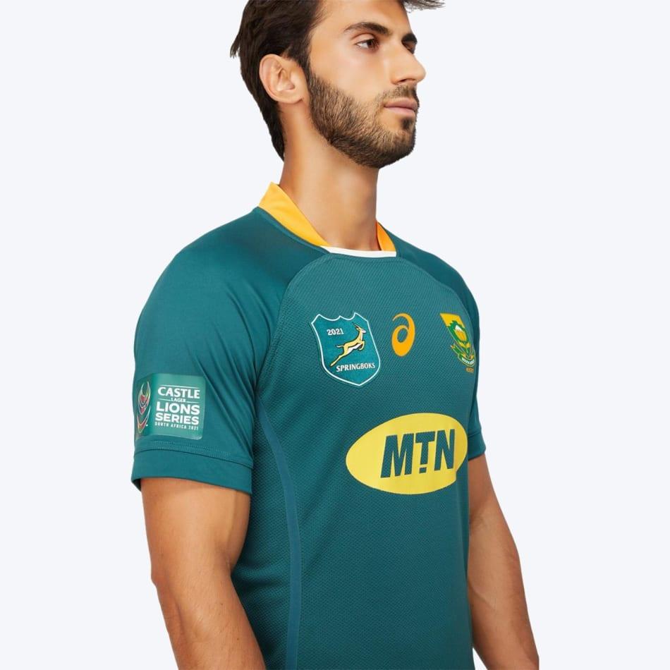 Springboks Men's 2021 BIL Tour Test Rugby Jersey, product, variation 4