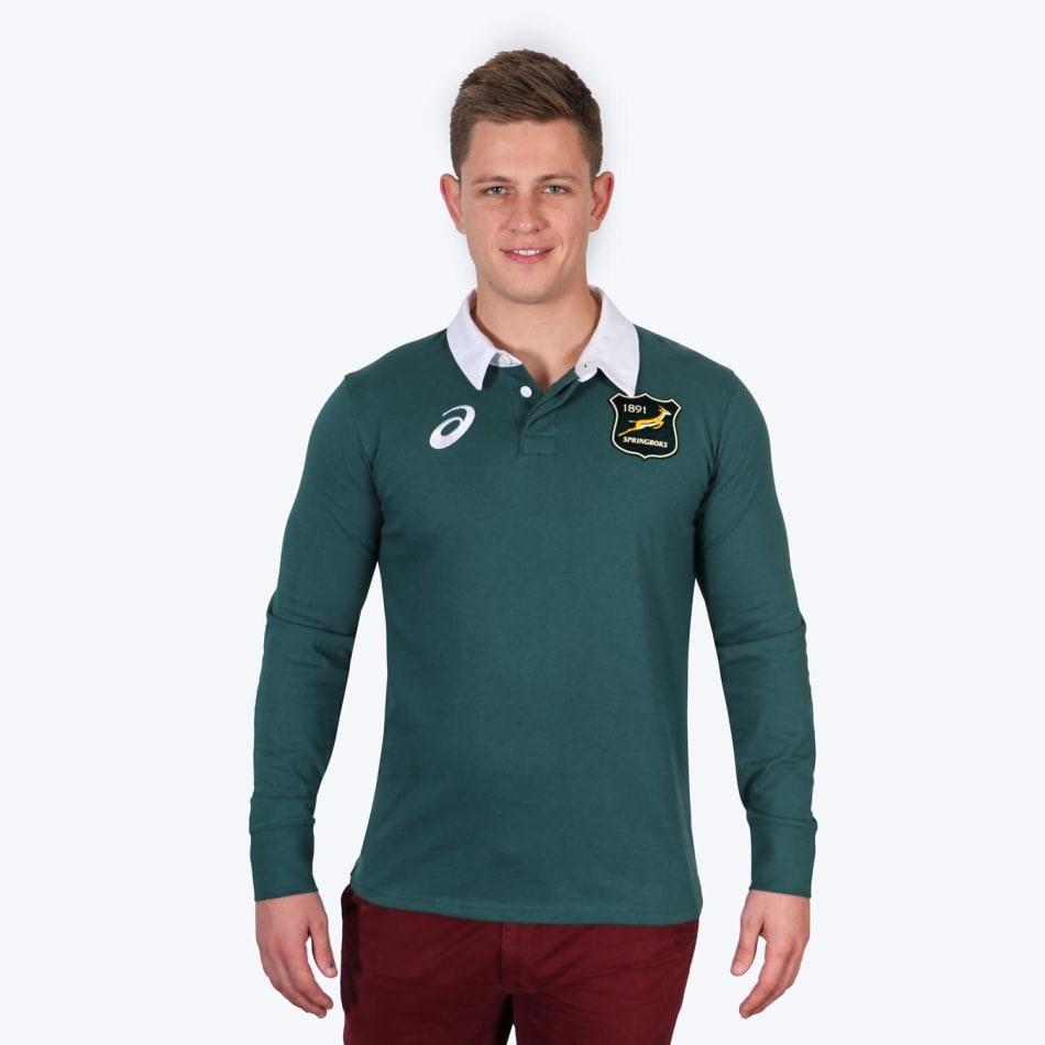 Springboks Men's 2021 BIL Tour Traditional LS Jersey, product, variation 1