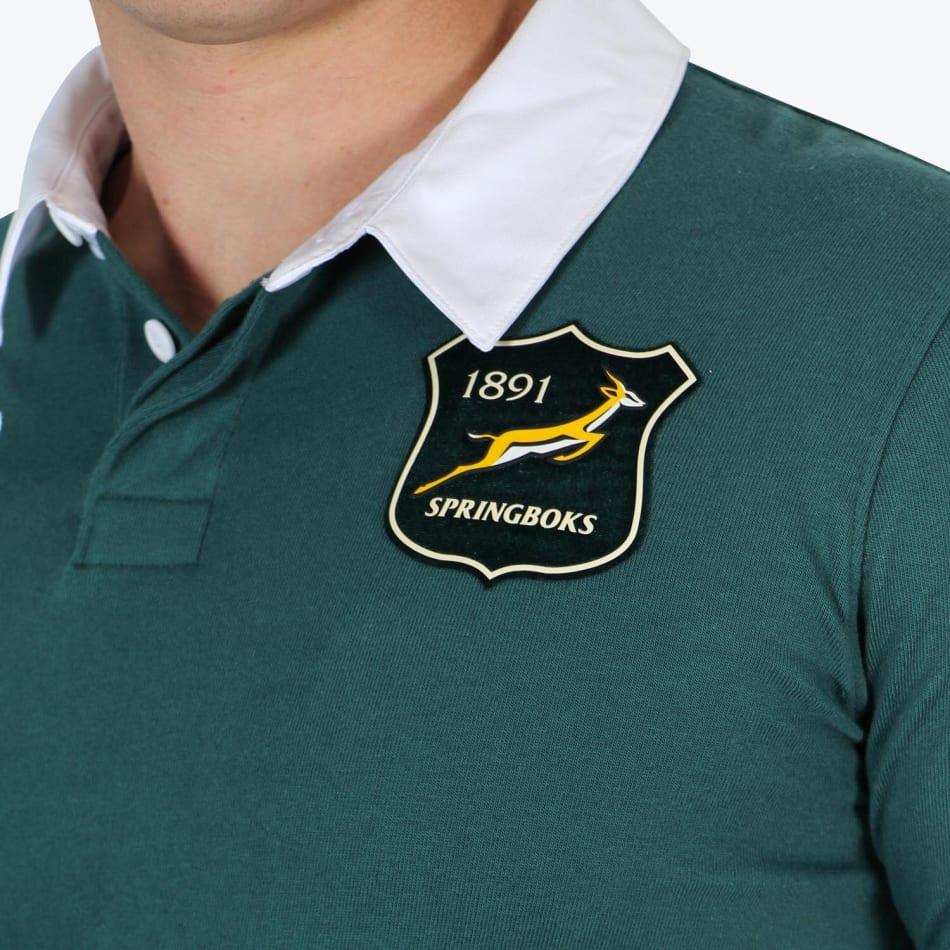 Springboks Men's 2021 BIL Tour Traditional LS Jersey, product, variation 4
