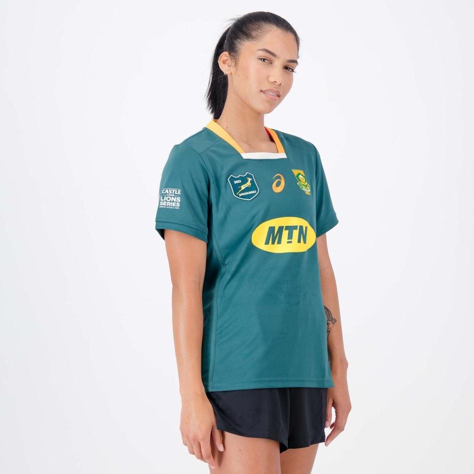 Springboks Women's 2021 BIL Tour Replica Jersey, product, variation 3