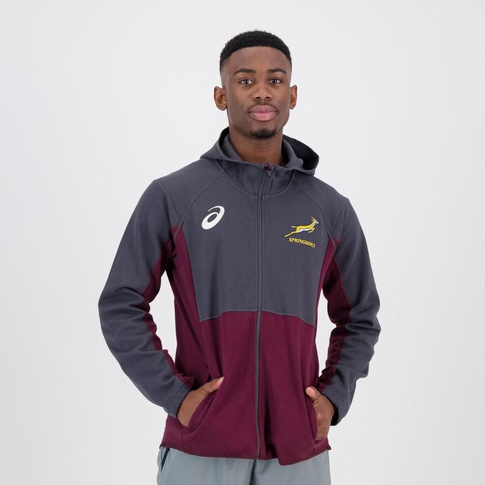 Springboks Men's 2021 Travel Hoodie, product, variation 1