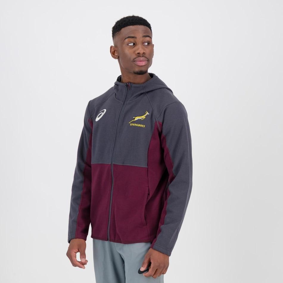 Springboks Men's 2021 Travel Hoodie, product, variation 2