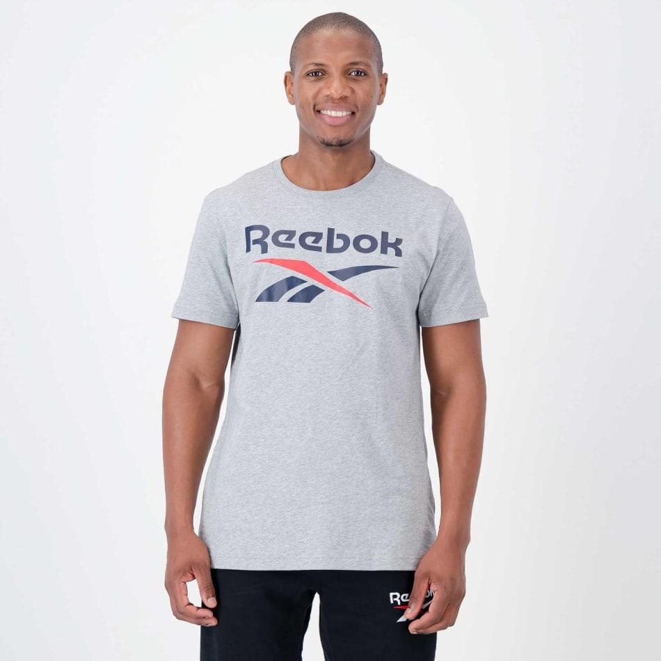 Reebok Men's Stacked Tee, product, variation 1
