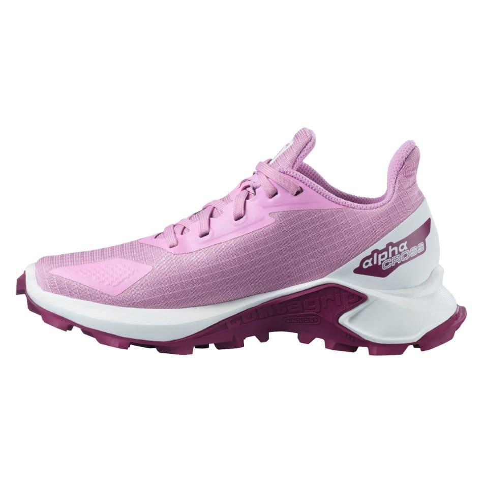 Salomon Jnr Alphacross Girls Off-Road Shoes, product, variation 3