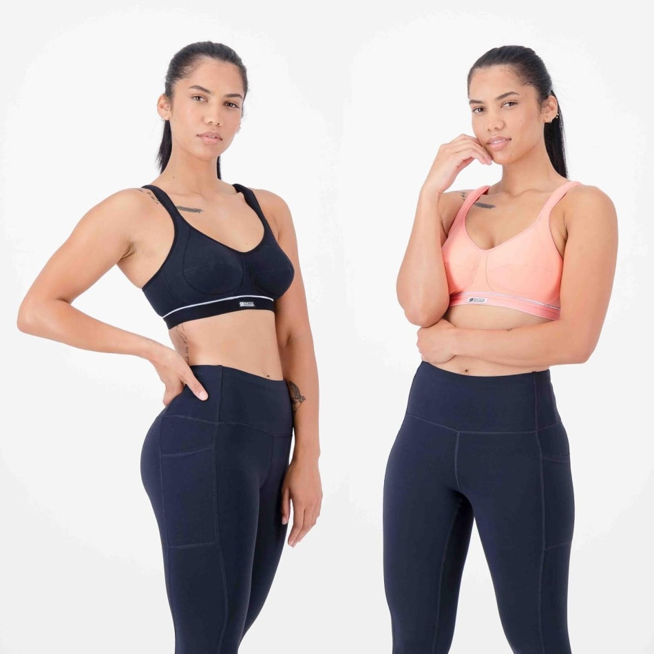 Shock Absorber Women's High Impact Cotton 2 Pack Sports Bra, product, variation 1