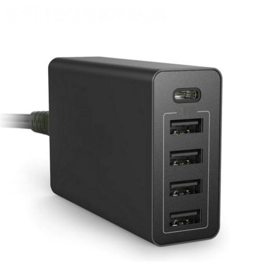 RED-E Home Station 5 Port USB HUB, product, variation 2