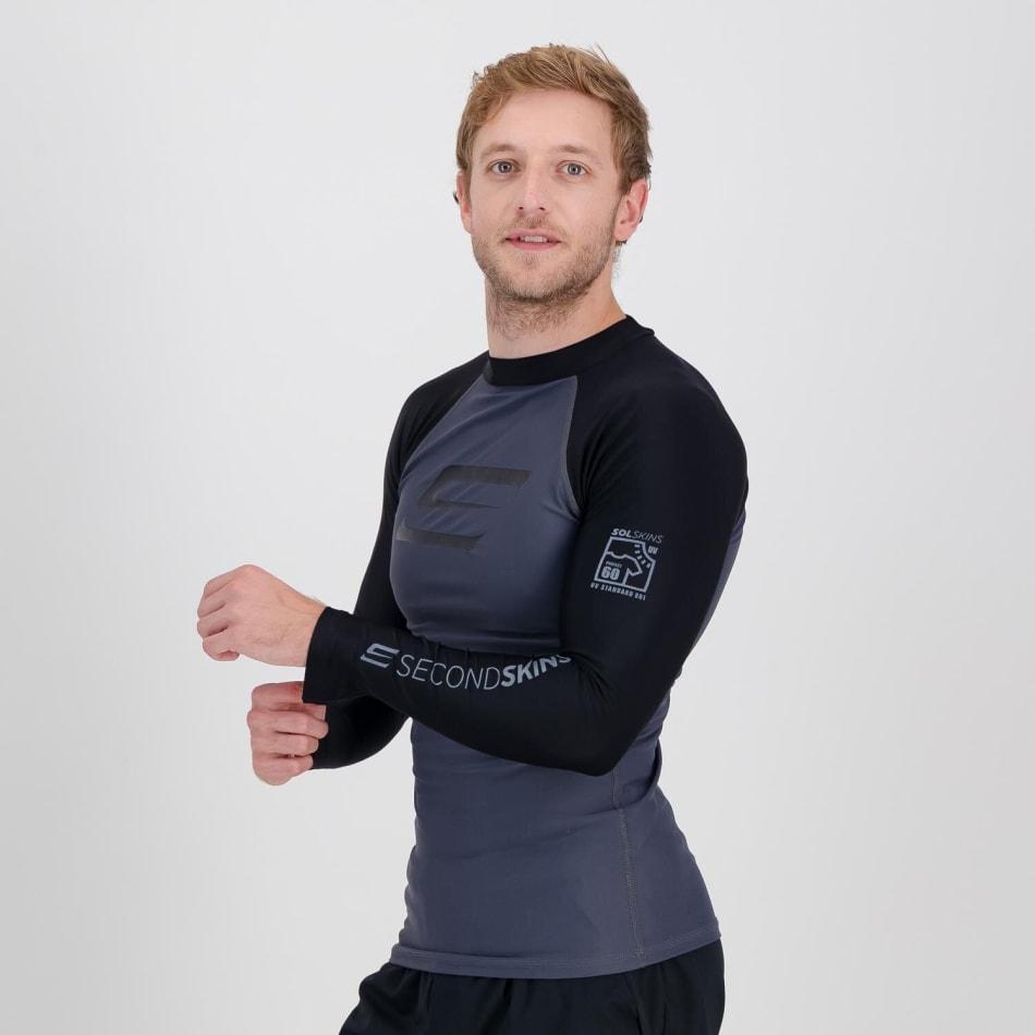Second Skins Men's Iconic Long Sleeve Rashvest, product, variation 2