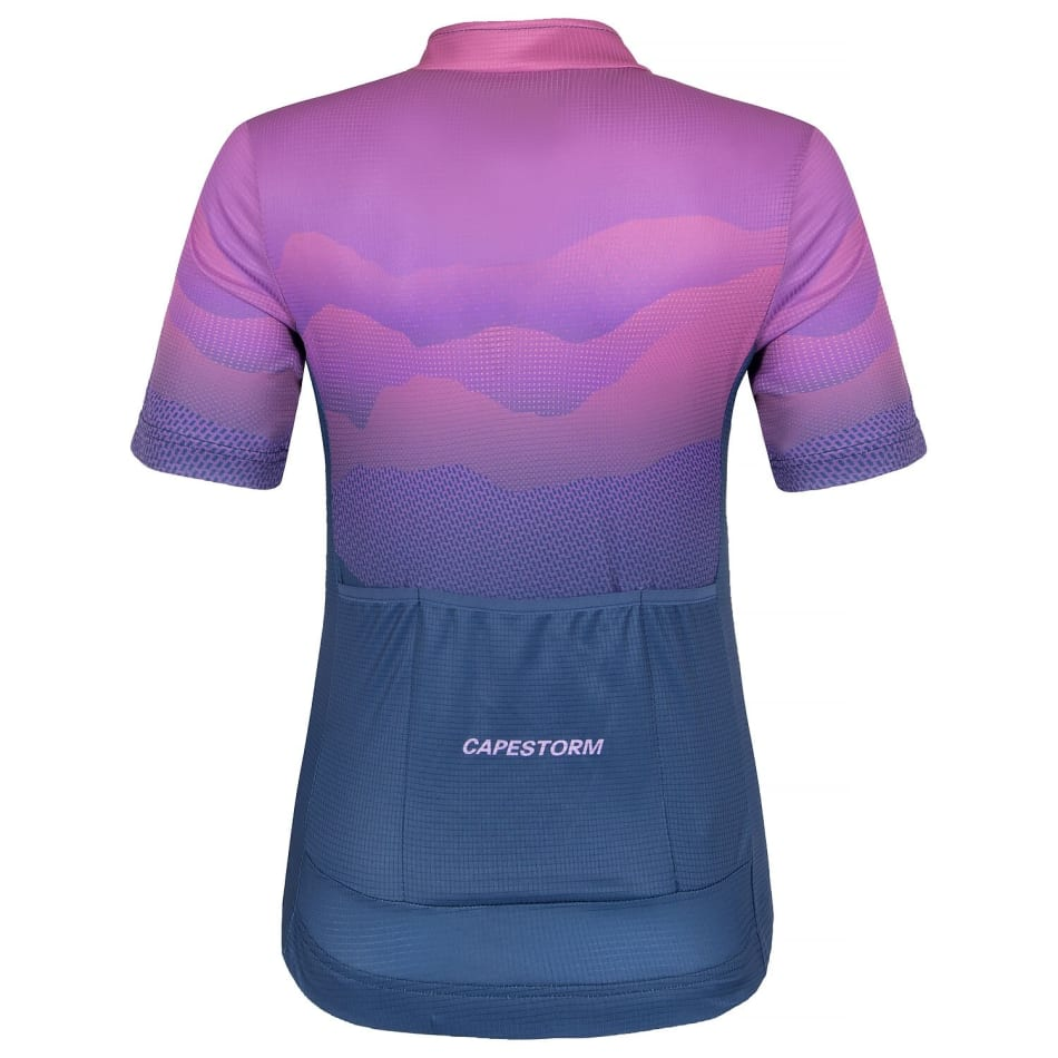 Capestorm Women's Mountain Trail Cycling Jersey, product, variation 2
