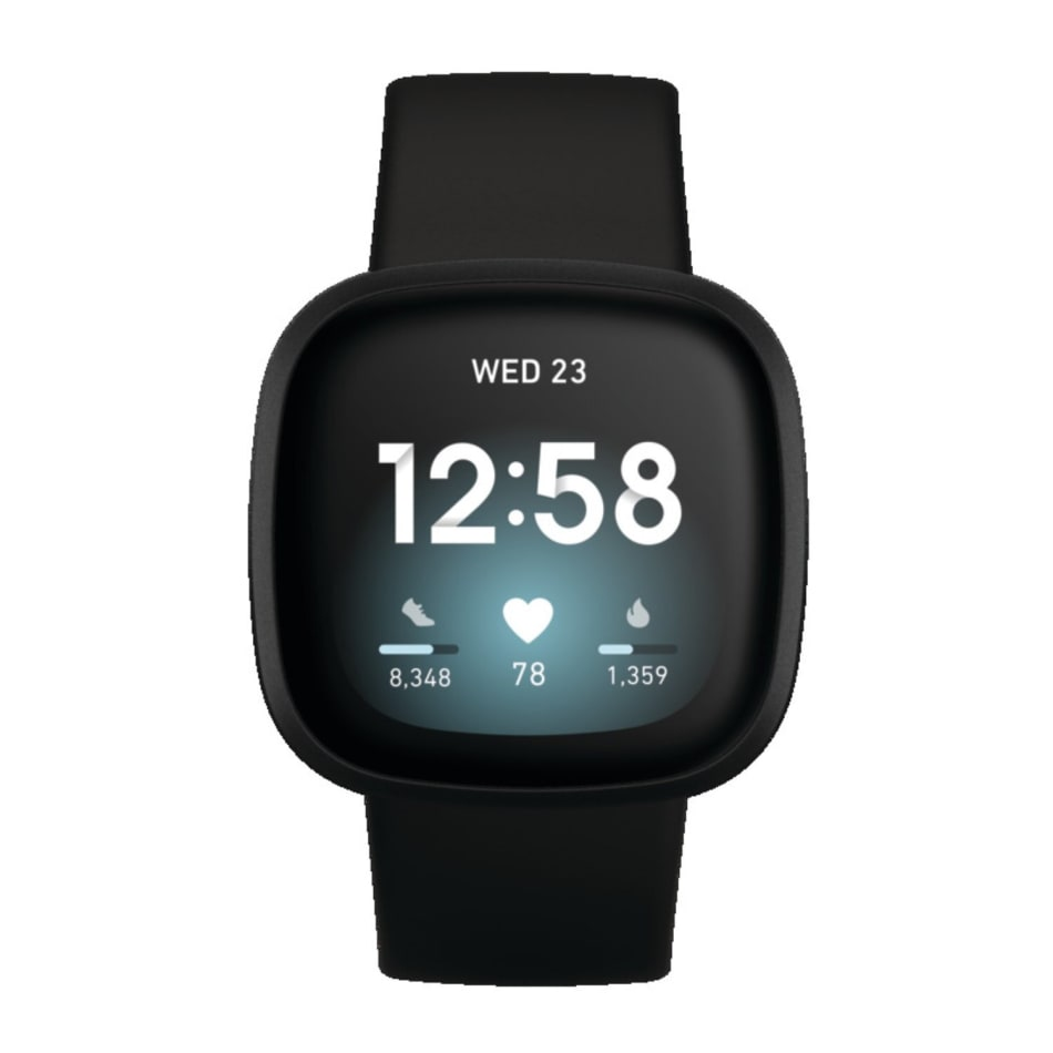 Fitbit Versa 3 Fitness Smartwatch, product, variation 1