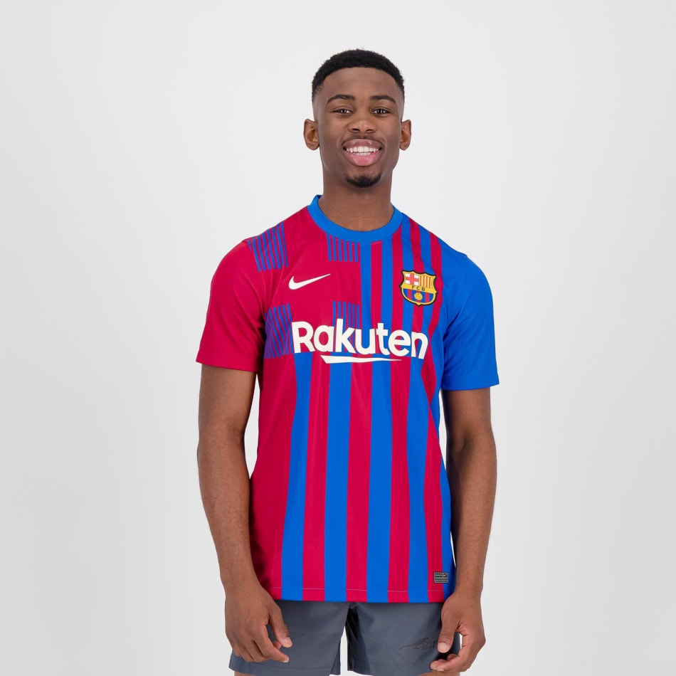 Barcelona Men's Home 21/22 Soccer Jersey, product, variation 2
