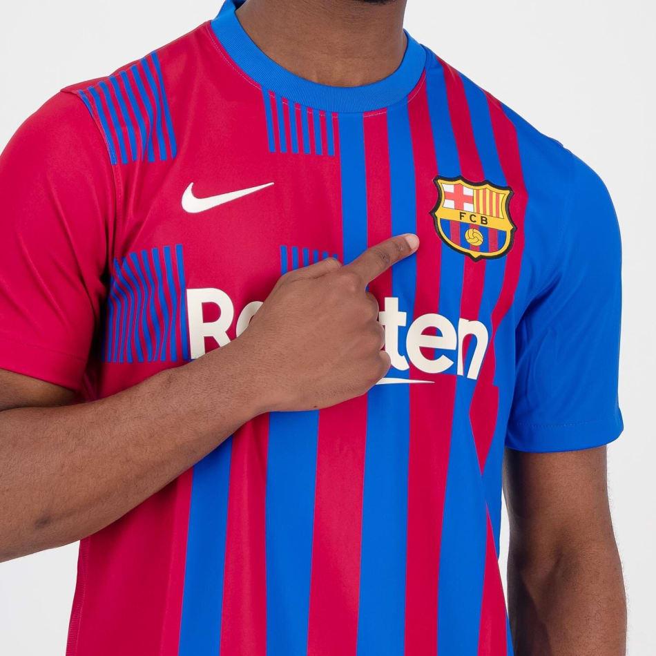 Barcelona Men's Home 21/22 Soccer Jersey, product, variation 4