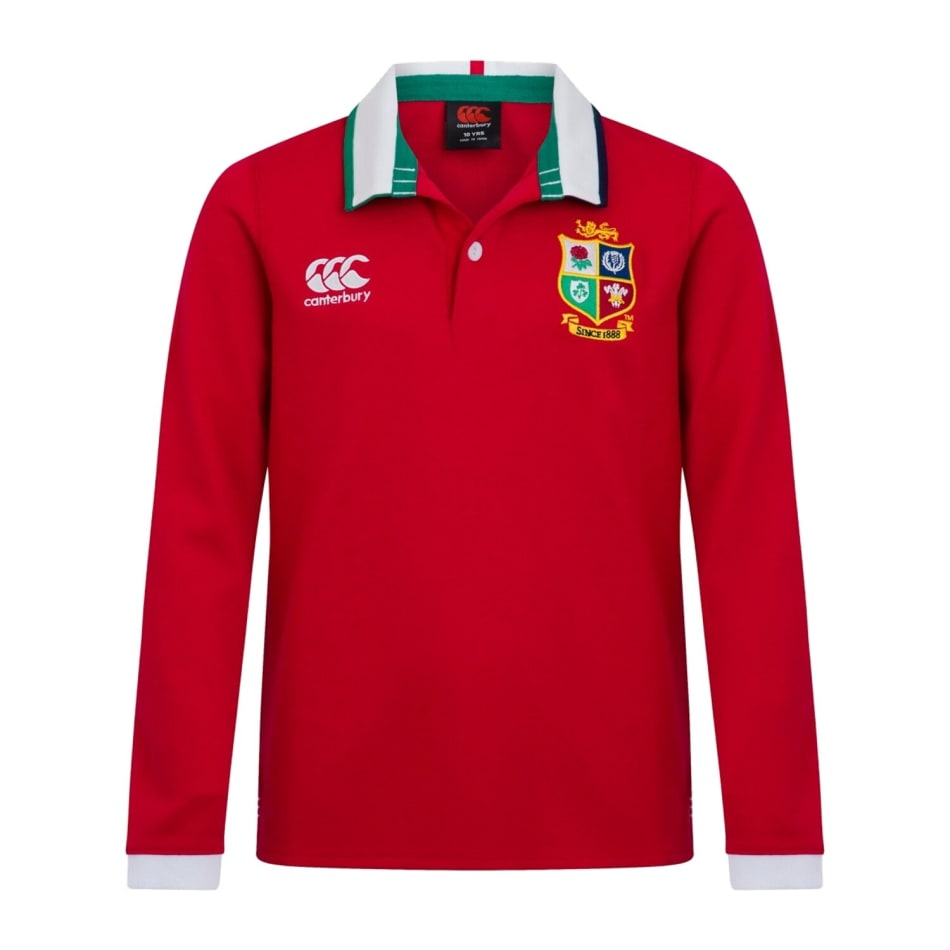 British and Irish Lions Men's 2021 Classic LS Rugby Jersey, product, variation 1