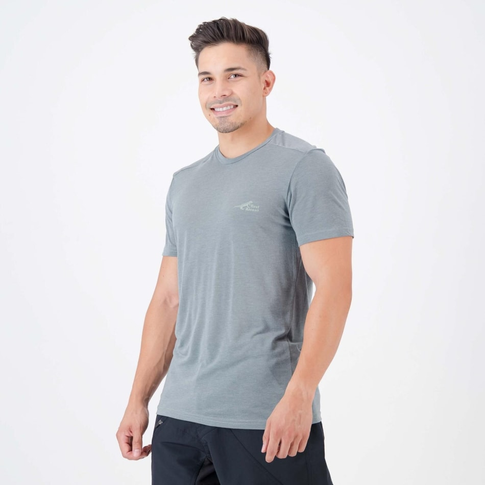 First Ascent Men's All the Way Tee, product, variation 2