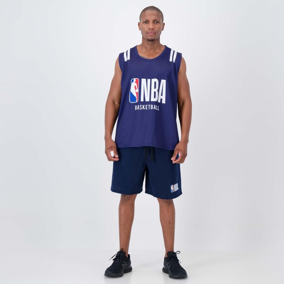 NBA Sublimated Vest (Navy), product, variation 3