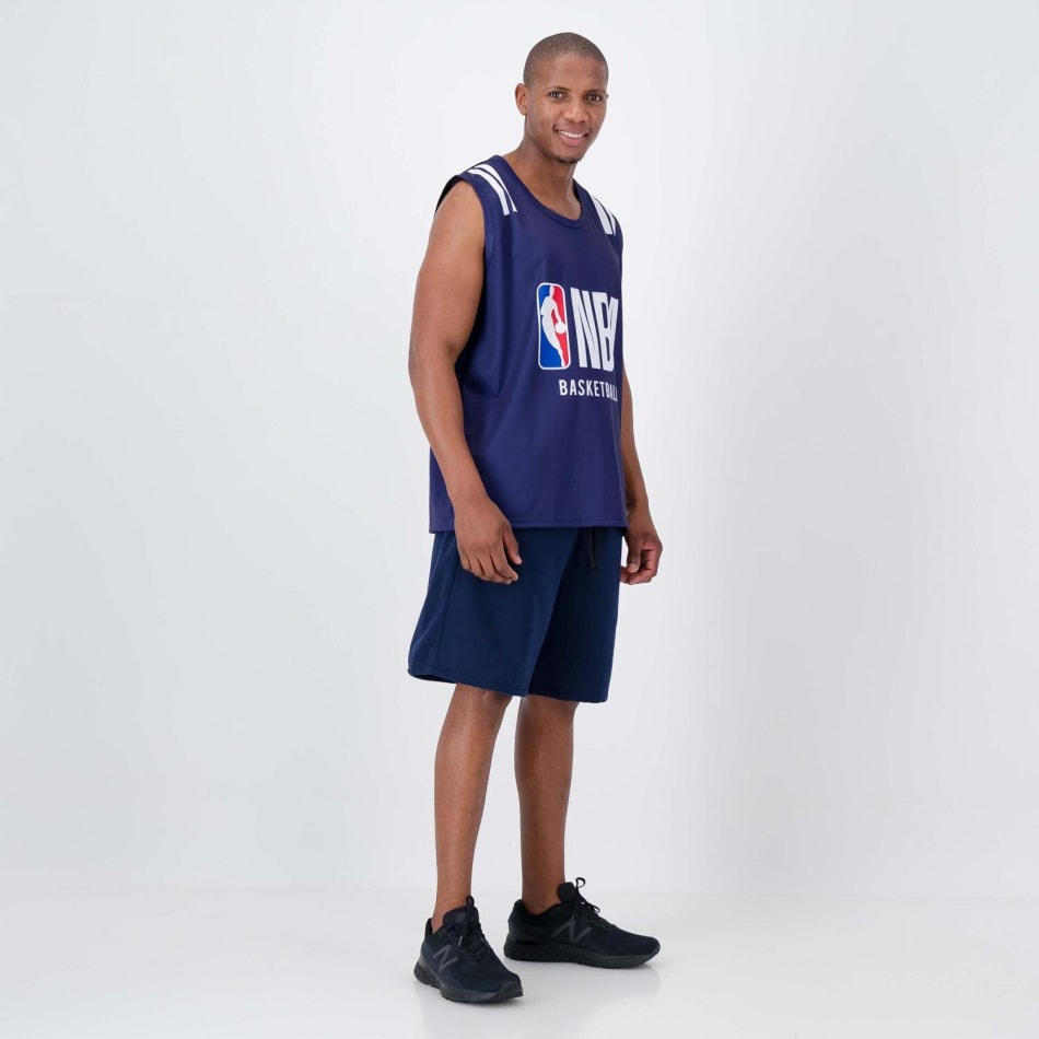 NBA Sublimated Vest (Navy), product, variation 4