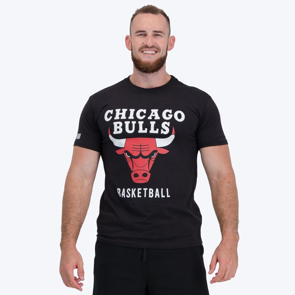 Chicago Bulls Printed T-shirt (Black), product, variation 1