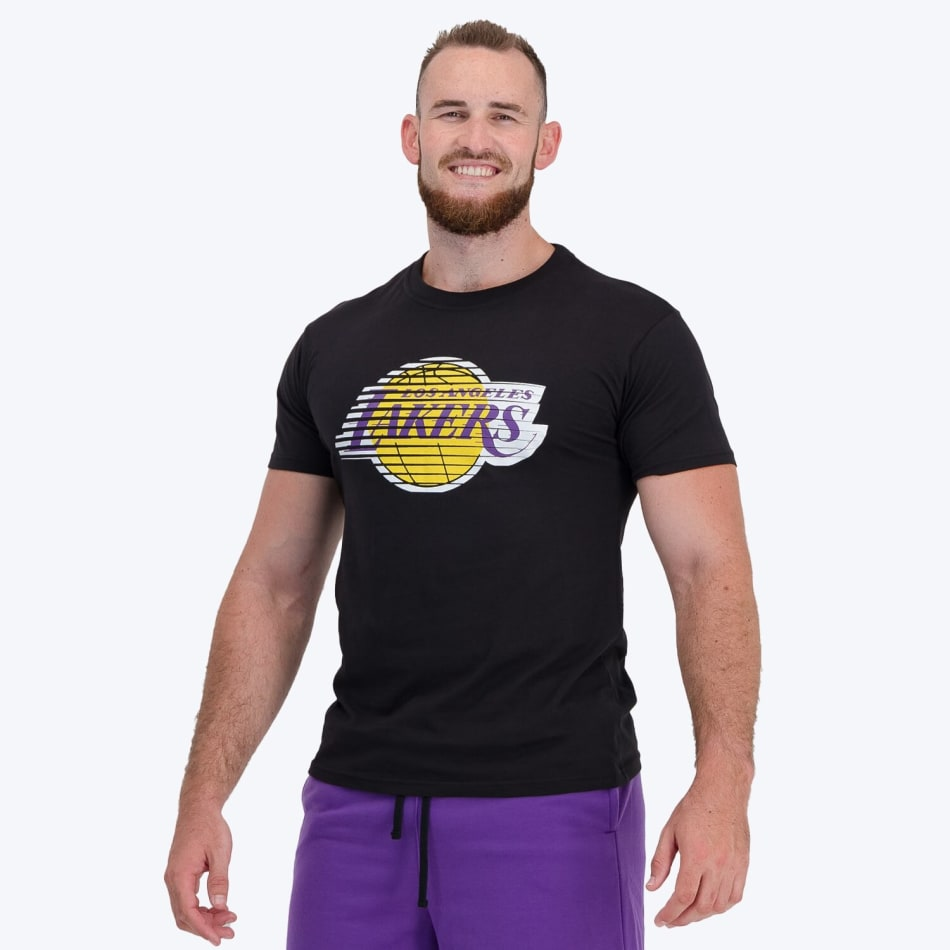 LA Lakers Printed T-Shirt (Black), product, variation 5