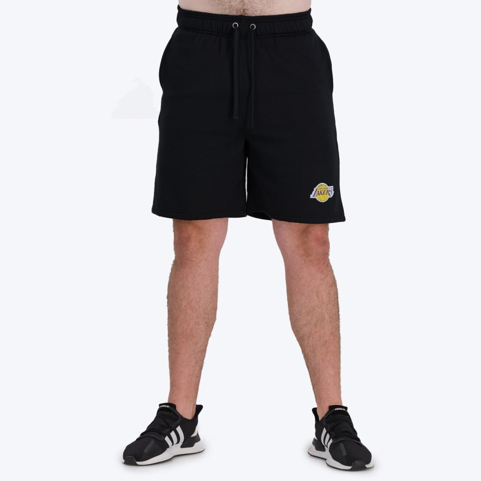 LA Lakers Retro Shorts (Black), product, variation 1