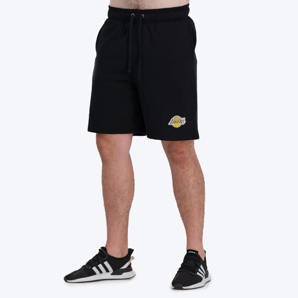 LA Lakers Retro Shorts (Black), product, variation 3
