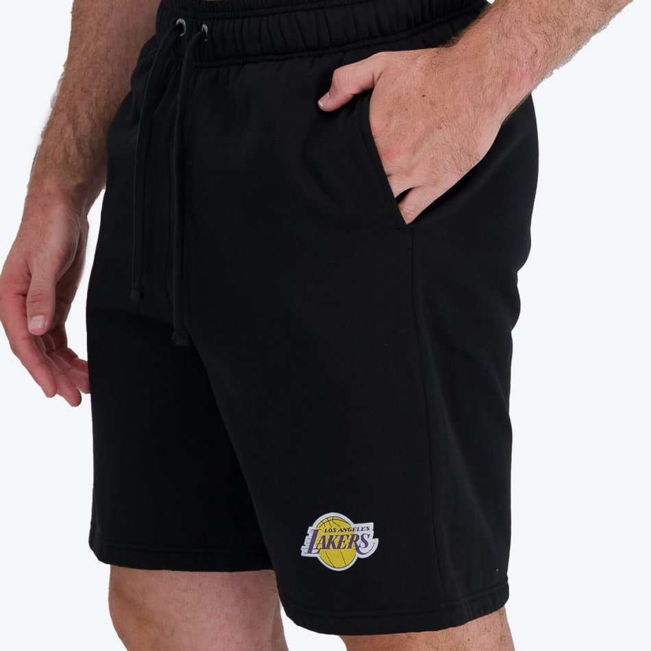 LA Lakers Retro Shorts (Black), product, variation 4