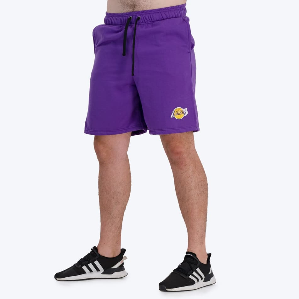 LA Lakers Retro Shorts (Purple), product, variation 3