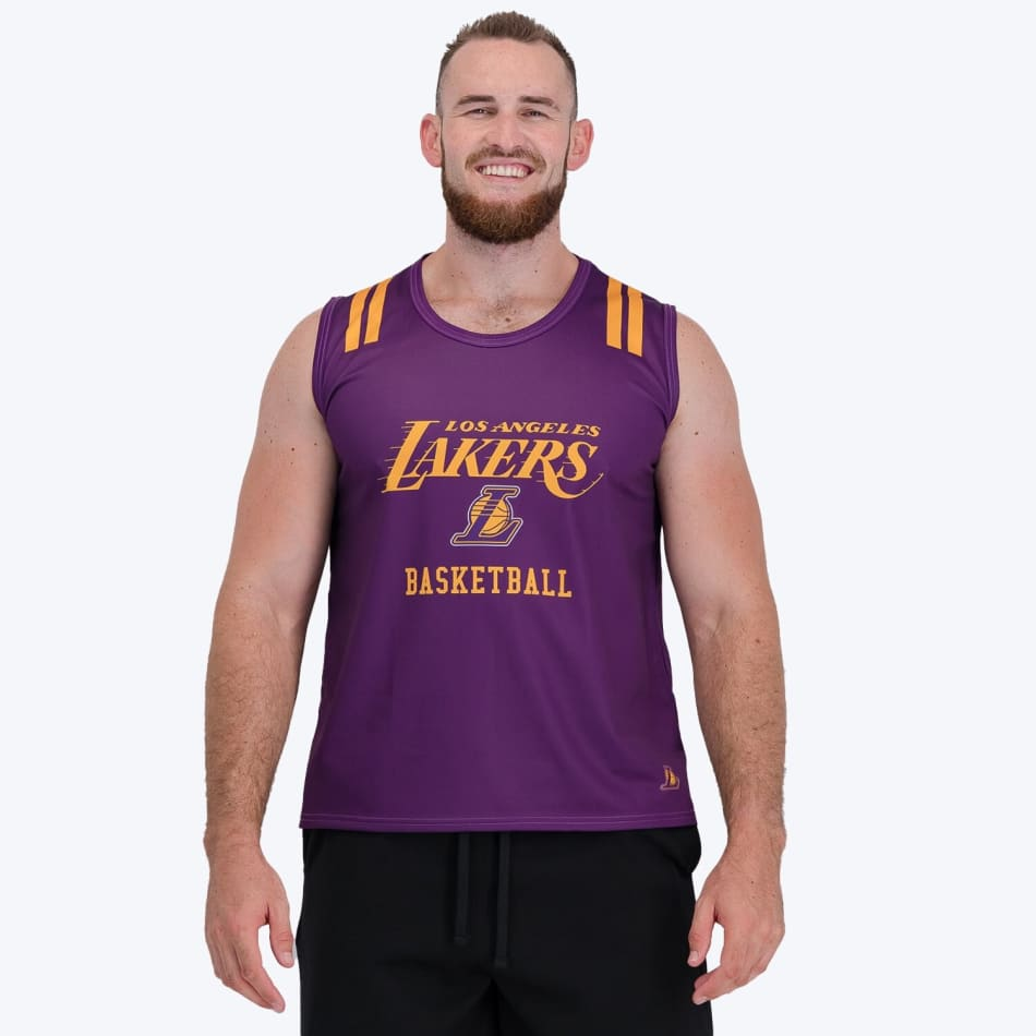 LA Lakers Sublimated Vest (Purple), product, variation 1