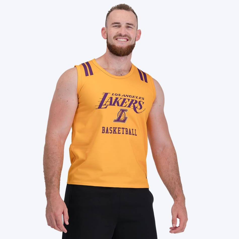 LA Lakers Vest (Yellow), product, variation 4